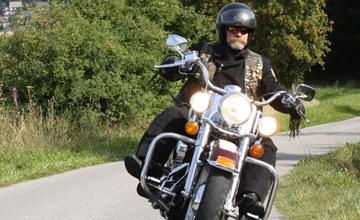 Motorradtour Kahler Pön in Usseln