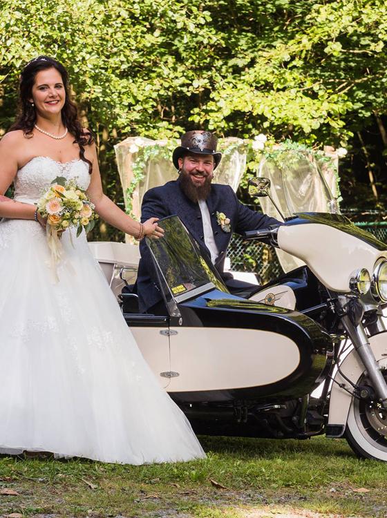 Biker Hochzeit