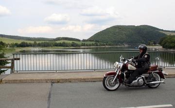 Motorradtour an der Diemtalsperre